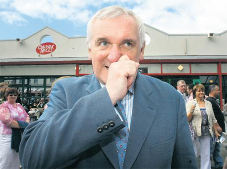 Fianna Fail is still trying to live down the days of the infamous Galway Races tent when Bertie Ahern was its leader