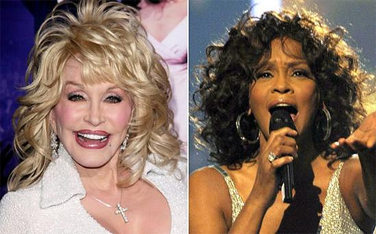 Country singer Dolly Parton wrote Whitney Houston's biggest hit I Will Always Love You
