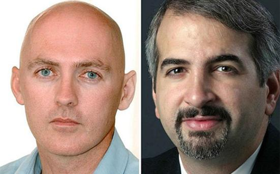 Two-time Pulitzer Prize winner Anthony Shadid (right) was held in Libya last year alongside reporter and videographer Stephen Farrell. Photo: Reuters