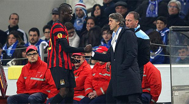 Manchester City claim that Mario Balotelli was racially abused by Porto fans