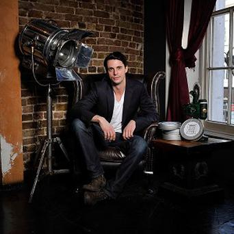 Matthew Goode plays a father in Burning Man