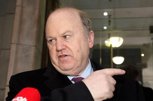 Michael Noonan, TD, the Minister for Finance