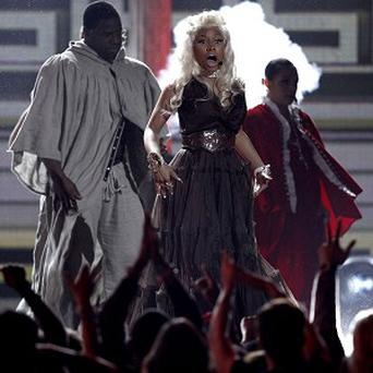Nicki Minaj's Grammy performance featured dancing priests and an exorcism