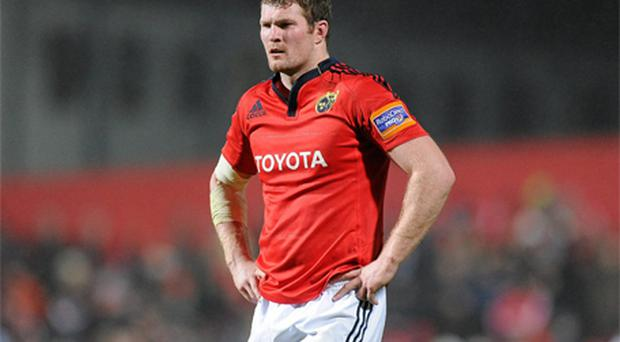 In-form second row Donnacha Ryan has a big decision to make regarding his future. Photo: Sportsfile