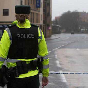 PSNI officers are investigating after a motorist was shot at in the Pansy Street area of east Belfast