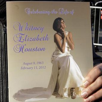 Whitney Houston has been laid to rest following Saturday's funeral service