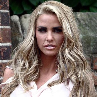 Katie Price was one of several runners made to complete a longer distance in the Brighton Half Marathon
