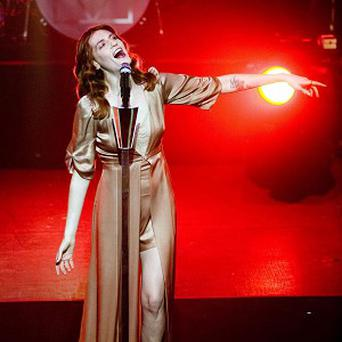 Florence Welch first played T in the Park in 2009