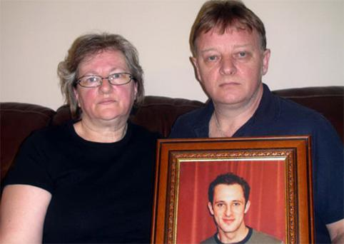 Pam and George Cummings, the mother and step-father of Christopher Rochester