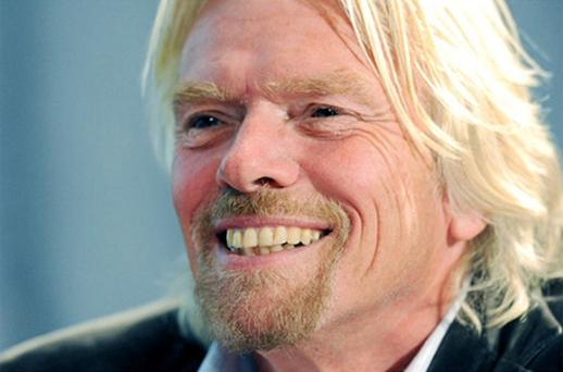 Sir Richard has won control of richardbranson.xxx Photo: Getty Images