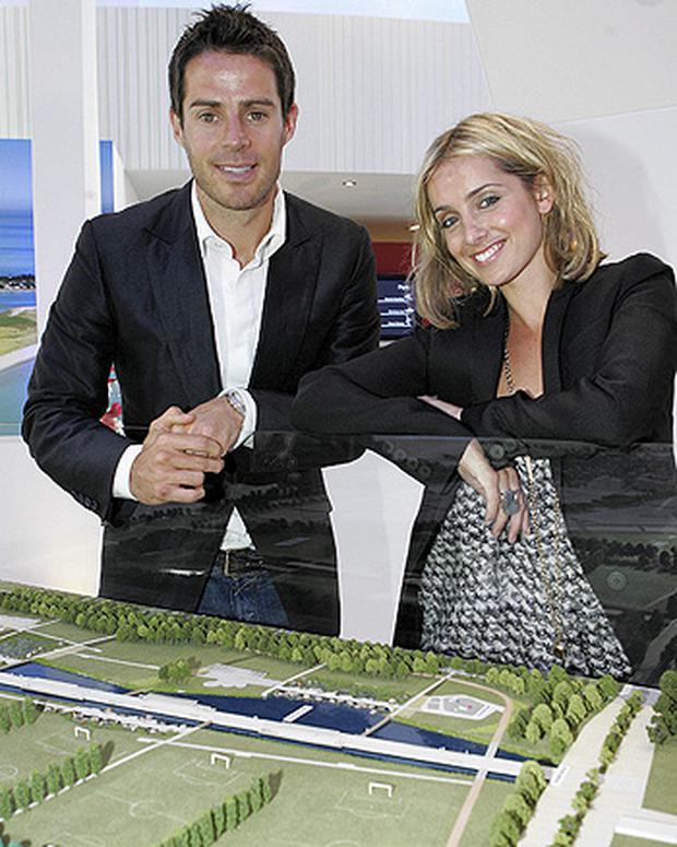 Belmayne was launched by celebrity couple Jamie and Louise Redknapp in April 2007 at a high-profile, glitzy event