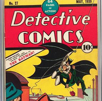 Detective Comics No 27 sold for more than 300,000 pounds (AP/Courtesy of Heritage Auctions)