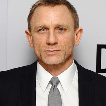 Those surveyed thought Daniel Craig was the celebrity most likely to be a softie at heart