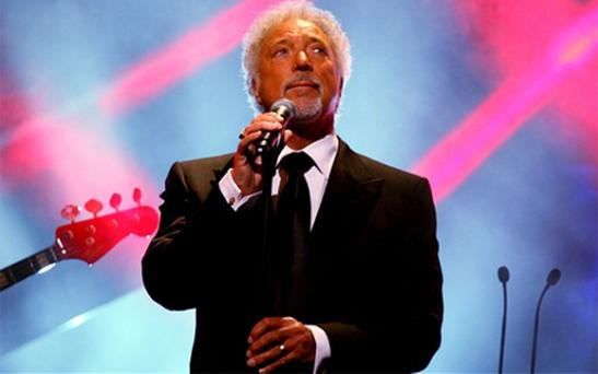 Sir Tom Jones performs at the the Baftas earlier this month. Photo: PA