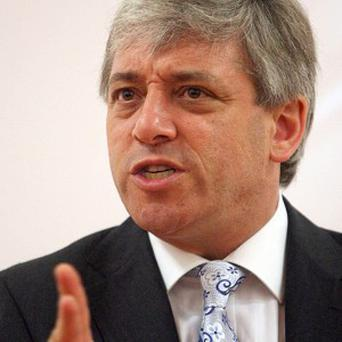 Commons Speaker John Bercow said the 30,000 pound shade tree contract needed to be revisited