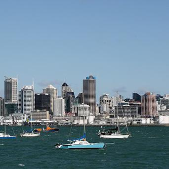 Auckland in New Zealand