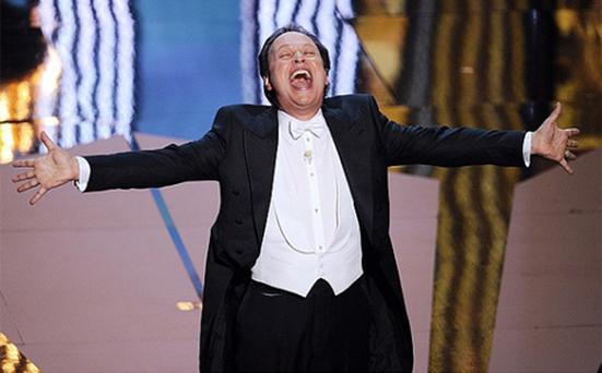 Billy Crystal came back with a bang for his ninth appearance as Oscars host. Photo: Getty Images