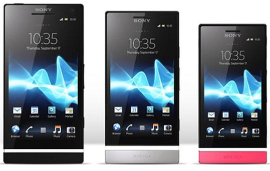 Sony's expanded family of Xperia phones