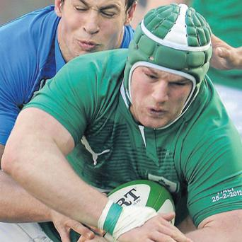 Sean O'Brien looked like a fish out of water, while Italy's Sergio Parisse offered a performance of total commitment
