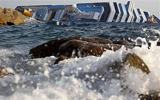 The Costa Concordia disaster prompted calls for improved safety on board cruise ships. Photo: Reuters