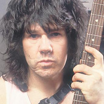 Gary Moore: eight times over the drink-drive limit