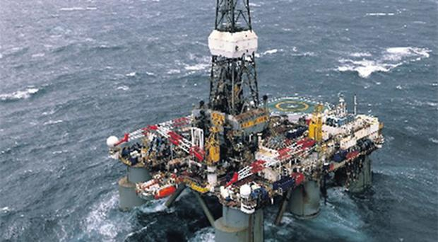 The GSF Arctic III semisubmersible rig is drilling the Barryroe prospect off the coast of Cork