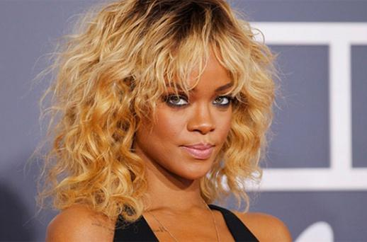 Rihanna at the Grammy Awards in Los Angeles. Photo: Reuters