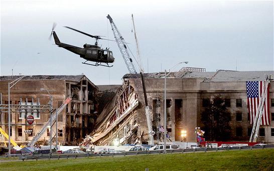 In all 184 people were killed in the attack on the Pentagon. Photo: GETTY
