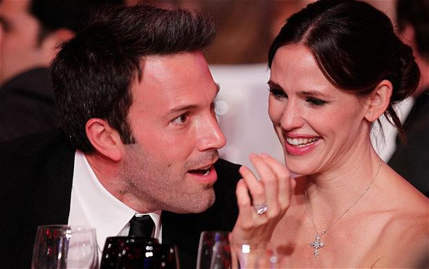 Ben Affleck and Jennifer Garner during the 16th annual Critics' Choice Movie Awards at the Hollywood Palladium in Los Angeles, California.
