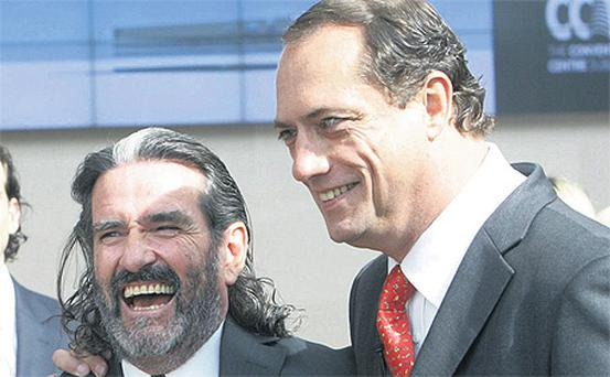 Treasury Holdings principals Johnny Ronan and Richard Barrett