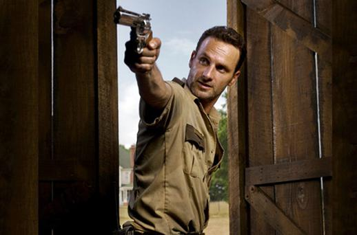 Andrew Lincoln as Rick Grimes in 'The Walking Dead'
