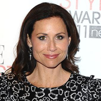 Minnie Driver said she loves working in the UK
