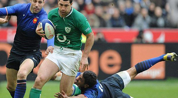 <p> <b>Rob Kearney 8/10</b> </p> <p> One of the most impressive individual Irish displays against a top-ranked rugby nation in some time. Kearney was irrepressible in the air, but loose kick allowed French momentum before Fofana's try. </p>