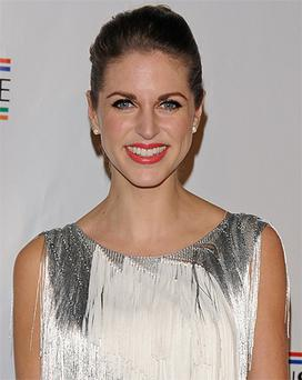 Amy Huberman made the announcement on her Twitter page by retweeting a link to Dealine Hollywood website which broke the story