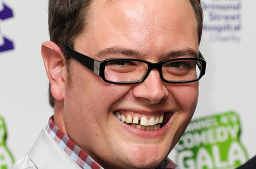 Alan Carr, Channel 4 at 10 pm