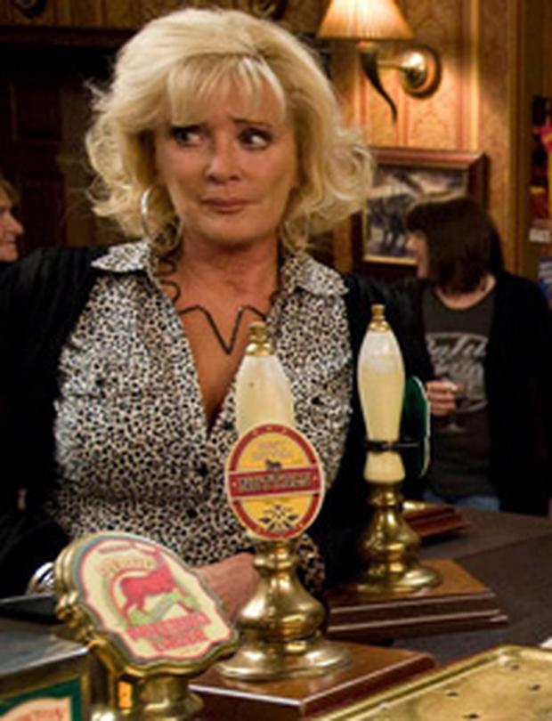 <p> <b>Liz McDonald (Beverley Callard) </b> </p> <p> A Coronation Street contender with a love for brash outfits and ever-shrinking hem-lines. She left the soap in 1998 and returned in 2004 before making an emotional exit last year. </p>