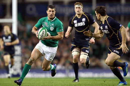 <p><strong>ROB KEARNEY 7.5/10</strong></p> <p> Difficult to re-scale the heights of Paris, but almost succeeded. Petty perhaps, but a lot more needed from him in attack off the phases; some questions of his defence too.</p>