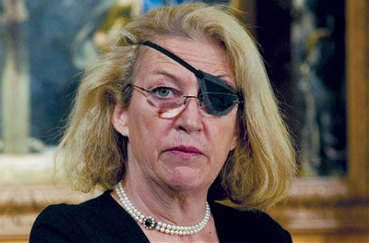 Marie Colvin of The Sunday Times. Photo: Getty Images