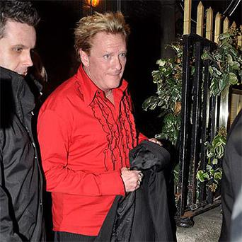 Michael Madsen leaving Chapter One in Dublin last month.