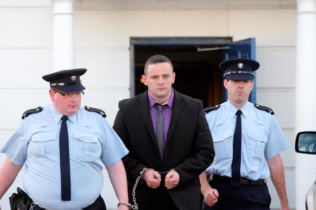 Martin McDermott leaving the court in Letterkenny last night. Picture: Declan Doherty