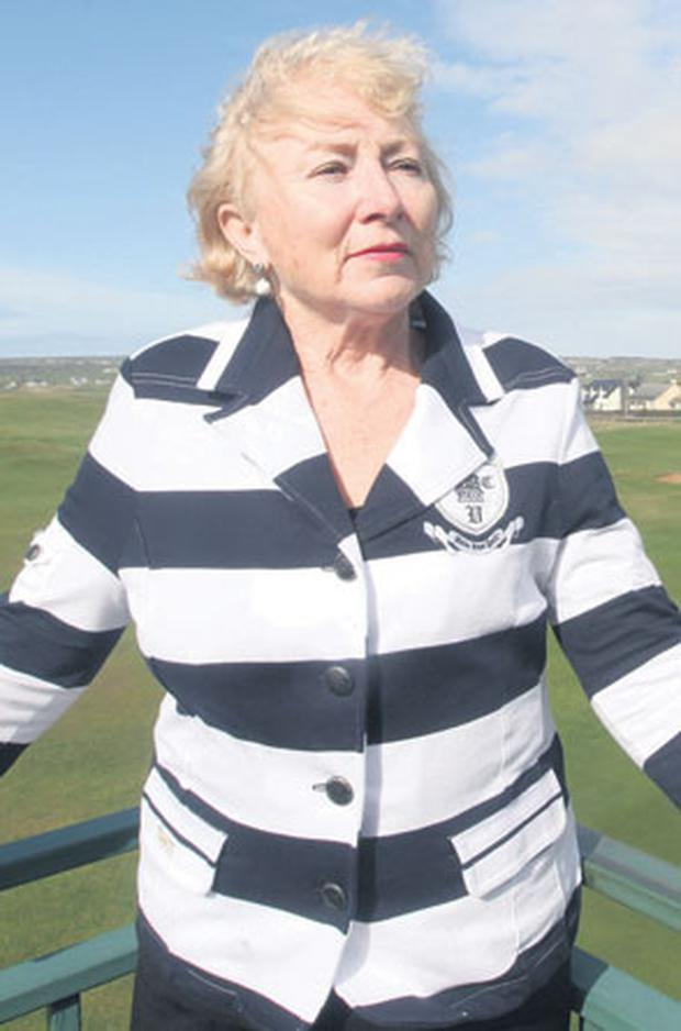 DISTURBING INCIDENT: Anne O'Connell, who complained of being targeted at a golf club in Connemara by the Minister for the Environment Phil Hogan