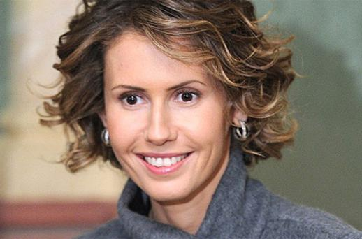 Asma al-Assad wife of President Bashar al-Assad. Photo: Getty Images