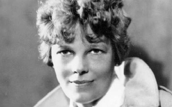 Earhart was the first woman to fly solo across the Atlantic Ocean but when attempting to fly around the world in 1937, her plane crashed and Earhart was declared missing and eventually dead. Photo: AP