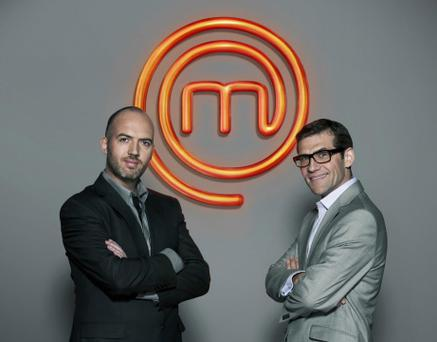 MasterChef Ireland judges Dylan McGrath and Nick Munier