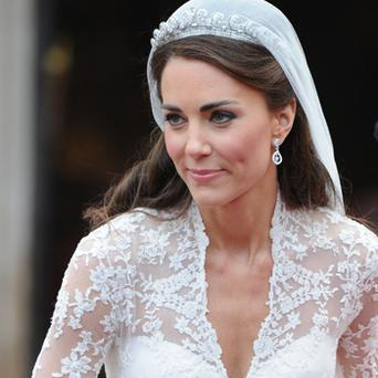 The dressmaker, who created Kate Middleton's flower girl dresses for her 2011 royal wedding to Prince William, has also made creations for royal families in the Middle East. Photo: Getty Images