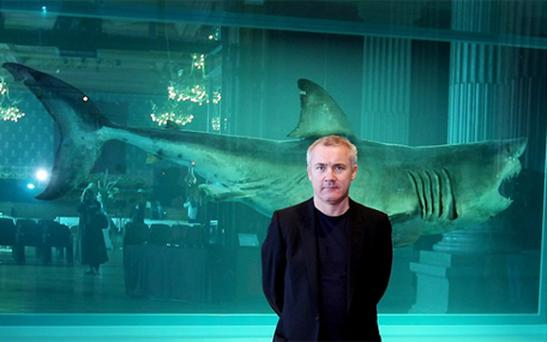 Damien Hirst. Photo: Getty Images