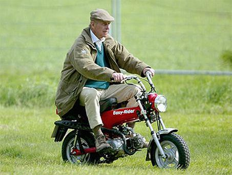 Duke of Edinburgh let his mischievous humour get the better of himself