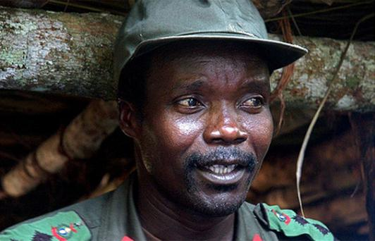 Joseph Kony, leader of the Lord's Resistance Army. Photo: AP