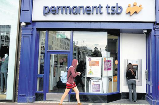 Permanent TSB on St Stephen's Green in Dublin