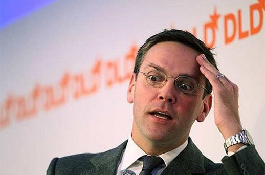 James Murdoch. Photo: Getty Images